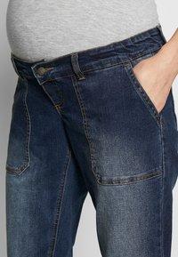 MAMALICIOUS - MLCELIA BOYFRIEND JEANS  - Relaxed fit jeans - medium blue denim - 3