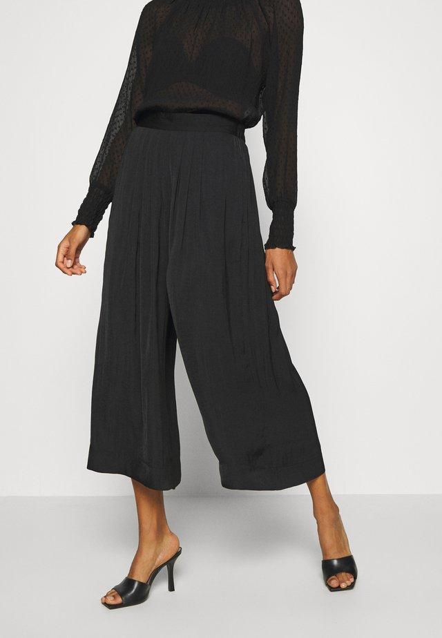 FRIEDAIW PANT - Pantaloni - black