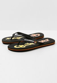 Quiksilver - Pool shoes - black/yellow - 2