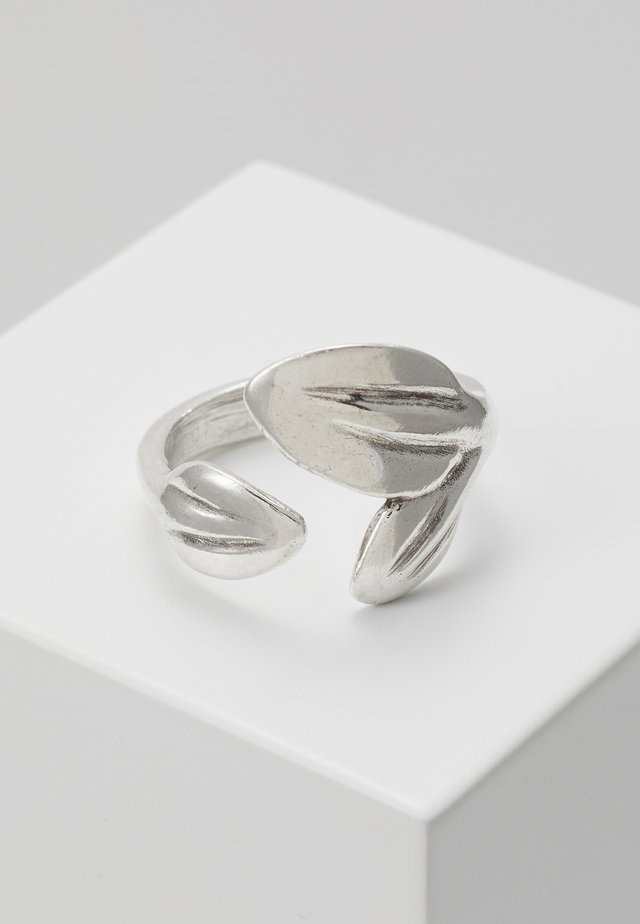 MY NATURE LEAF RING - Ringar - silver