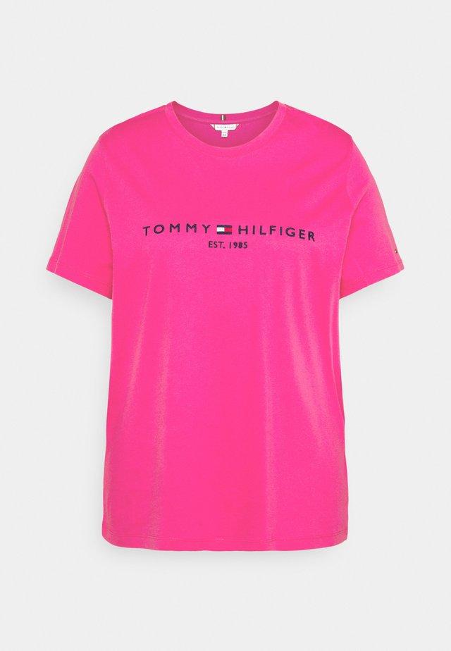 REGULAR TEE - Print T-shirt - glacier pink