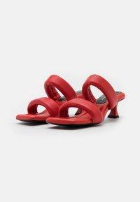 Proenza Schouler - CECIL - Pantofle na podpatku - red - 2