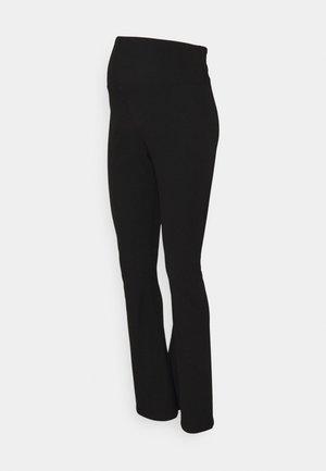 FLARE - Leggings - Trousers - black