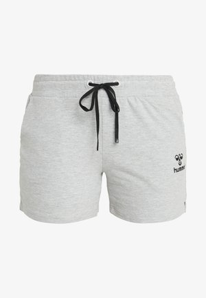 HMLNICA  - Sports shorts - grey melange