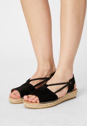 ADA - Platform sandals - schwarz