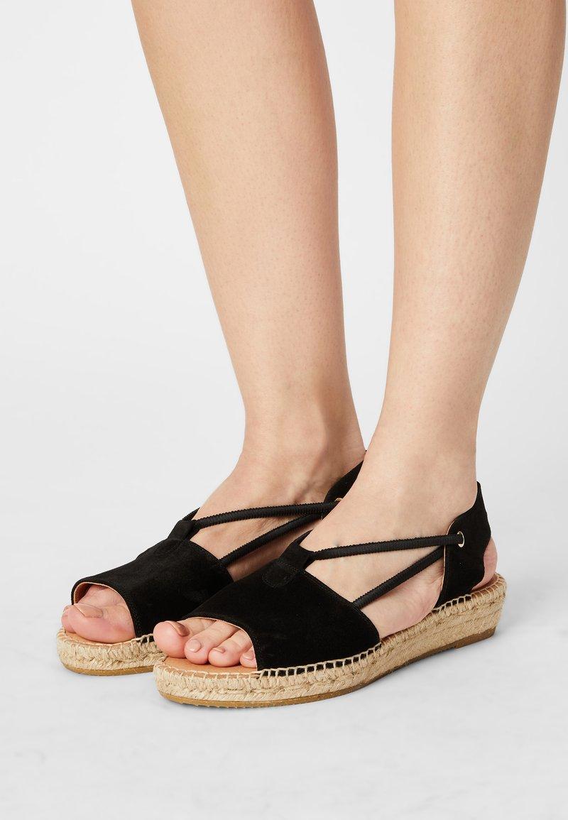 Kanna - ADA - Platform sandals - schwarz