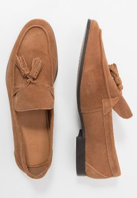 Office - CASUAL TASSLE LOAFER - Smart slip-ons - tan