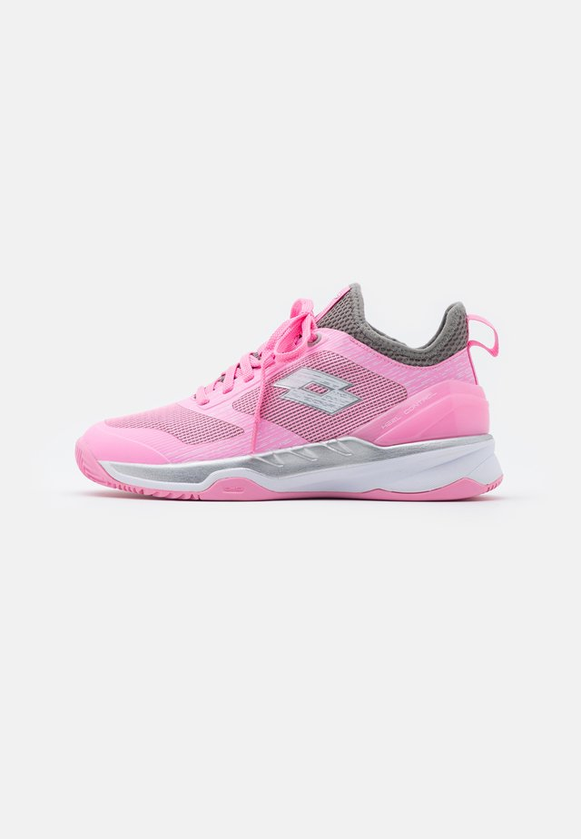 MIRAGE 200  - Chaussures de tennis pour terre-battueerre battue - pink/all white/cool gray