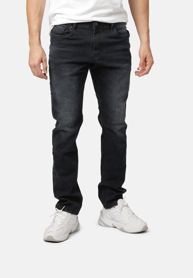 Jeans straight leg - anthracite