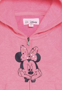 GAP - MINNIE MOUSE TODDLER GIRL - Sudadera con cremallera - pink light - 4