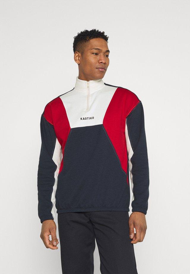 CREW ARNOLD - Zip-up hoodie - marino