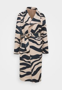 Vila - VIJUICE ZEBRA COAT - Classic coat - natural melange - 9