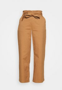 CULOTTE - Trousers - camel