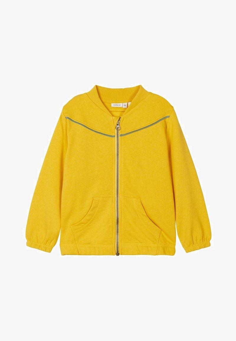 Name it - NMFLUKKA - Zip-up hoodie - spicy mustard