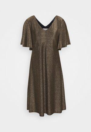 CRMINU SHORT DRESS - Korte jurk - gold
