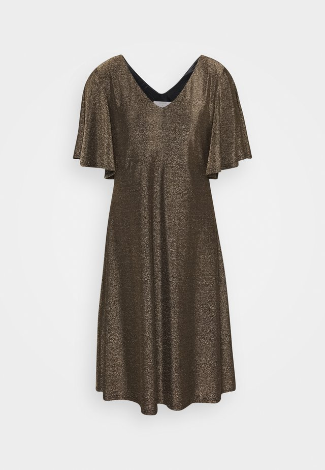 CRMINU SHORT DRESS - Day dress - gold