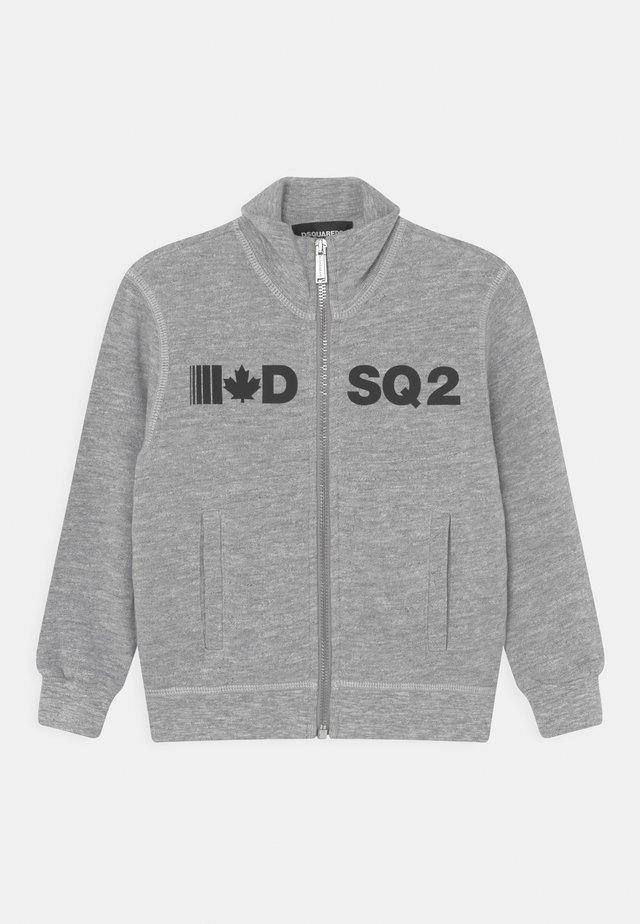 UNISEX - Zip-up hoodie - grey