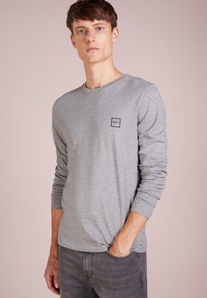 TACKS - Long sleeved top - light/pastel grey