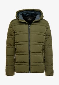 Scotch & Soda - CLASSIC HOODED PRIMALOFT JACKET - Vinterjacka - army - 3