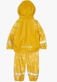 Helly Hansen - BERGEN RAIN SET - Regnjakke / vandafvisende jakker - essential yellow - 1