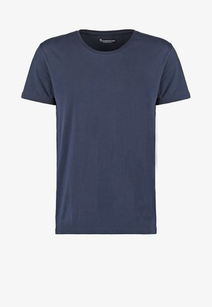 BASIC FIT O-NECK - T-shirt basic - dunkelblau