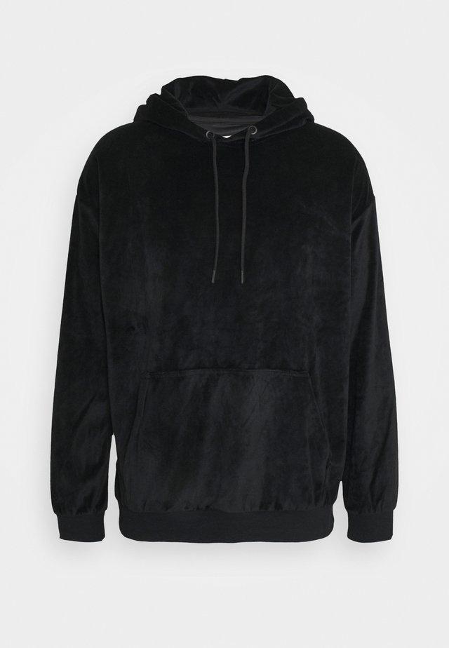 UNISEX - Luvtröja - black