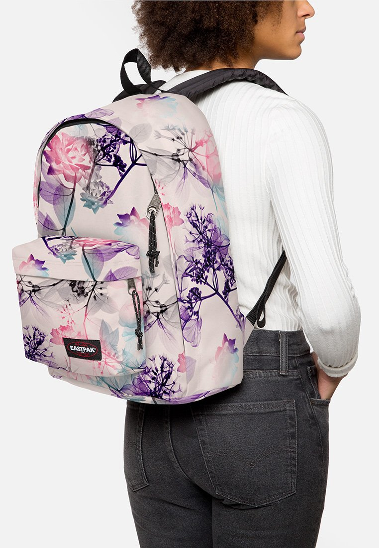 Eastpak - OUT OF OFFICE/FLOWER-RAY - Rucksack - pink ray