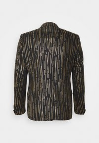 Twisted Tailor - SAGRADA SUIT - Garnitur - black/gold - 2