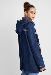 Desigual - CHAQ NAVAI - Manteau court - denim dark blue - 2