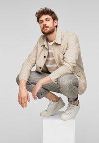 s.Oliver BLACK LABEL - Light jacket - beige melange - 5