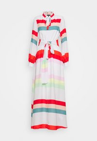 Who What Wear - BELTED DRESS - Maxi dress - multicolor - 4