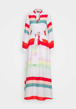 BELTED DRESS - Maxi šaty - multicolor