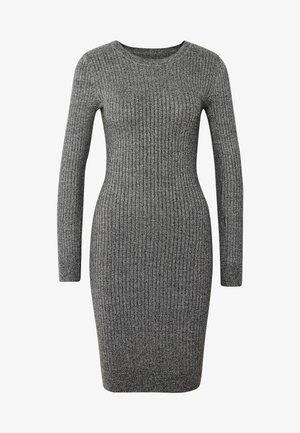 BASIC - Jumper dress - grey melange