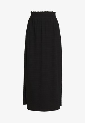 NEW AFTERNOON  - Maxi skirt - anthracite