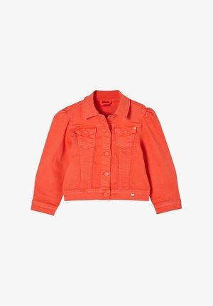 Denim jacket - orange