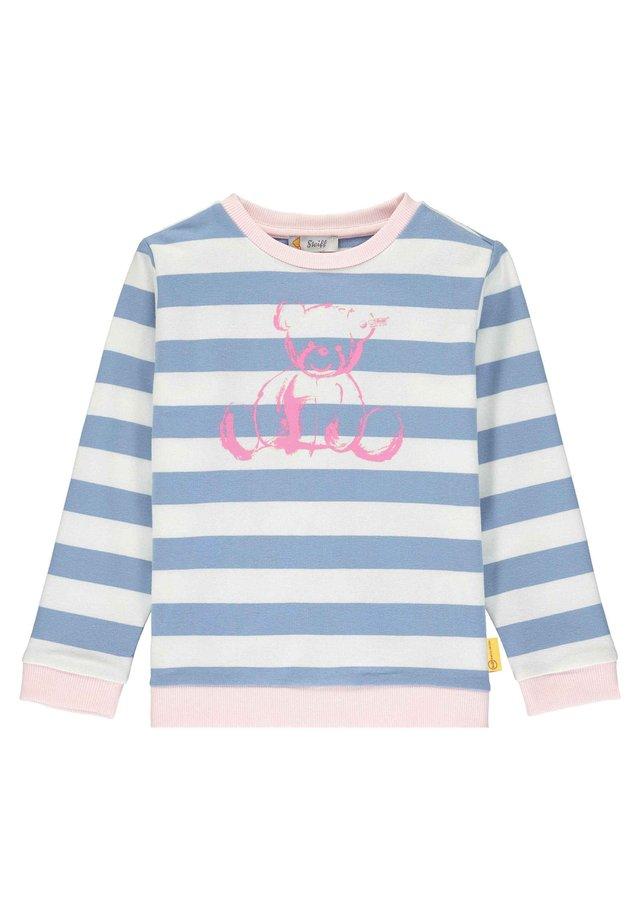 STEIFF COLLECTION SWEATSHIRT MIT SÜSSEM PRINT - Sweatshirt - forever blue