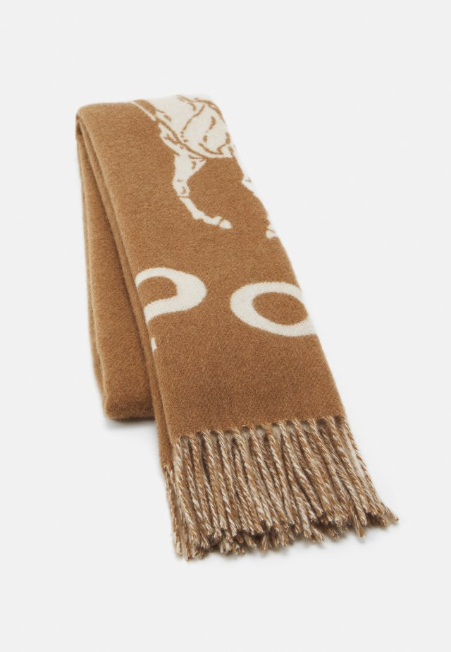 Scarf - camel/cream