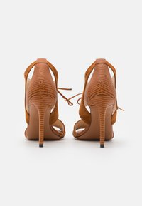 Pinko - FRANCINE - High heeled sandals - marrone - 3