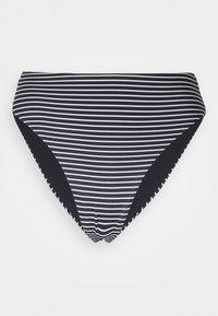 Seafolly - HIGH WAIST PANT - Bikini bottoms - black/white - 5