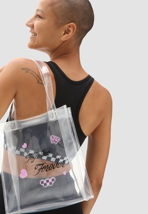 WM TOGETHER FOREVER MINI TOTE - Handbag - white