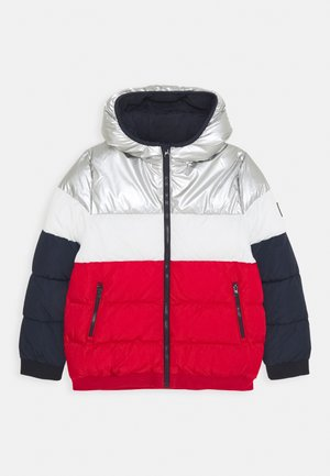 LOUNO DOUDOUNE - Winter jacket - smoking/terkuit/marshmallow