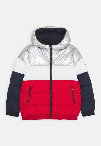 LOUNO DOUDOUNE - Winter jacket - smoking/terkuit/marshmallow