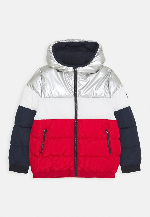 LOUNO DOUDOUNE - Winterjacke - smoking/terkuit/marshmallow