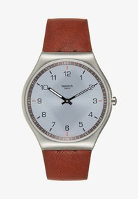 Swatch - SKIN SUIT BLACK - Montre - brown - 0