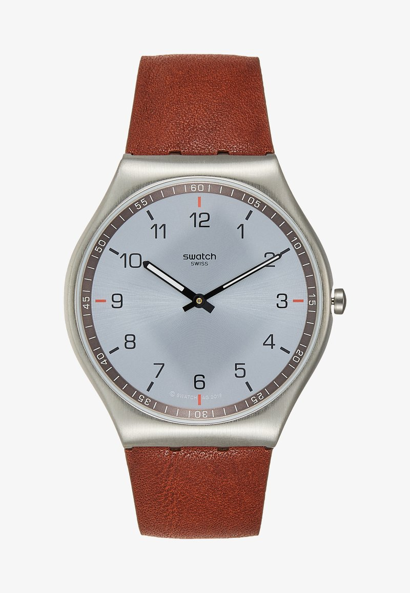 Swatch - SKIN SUIT BLACK - Montre - brown
