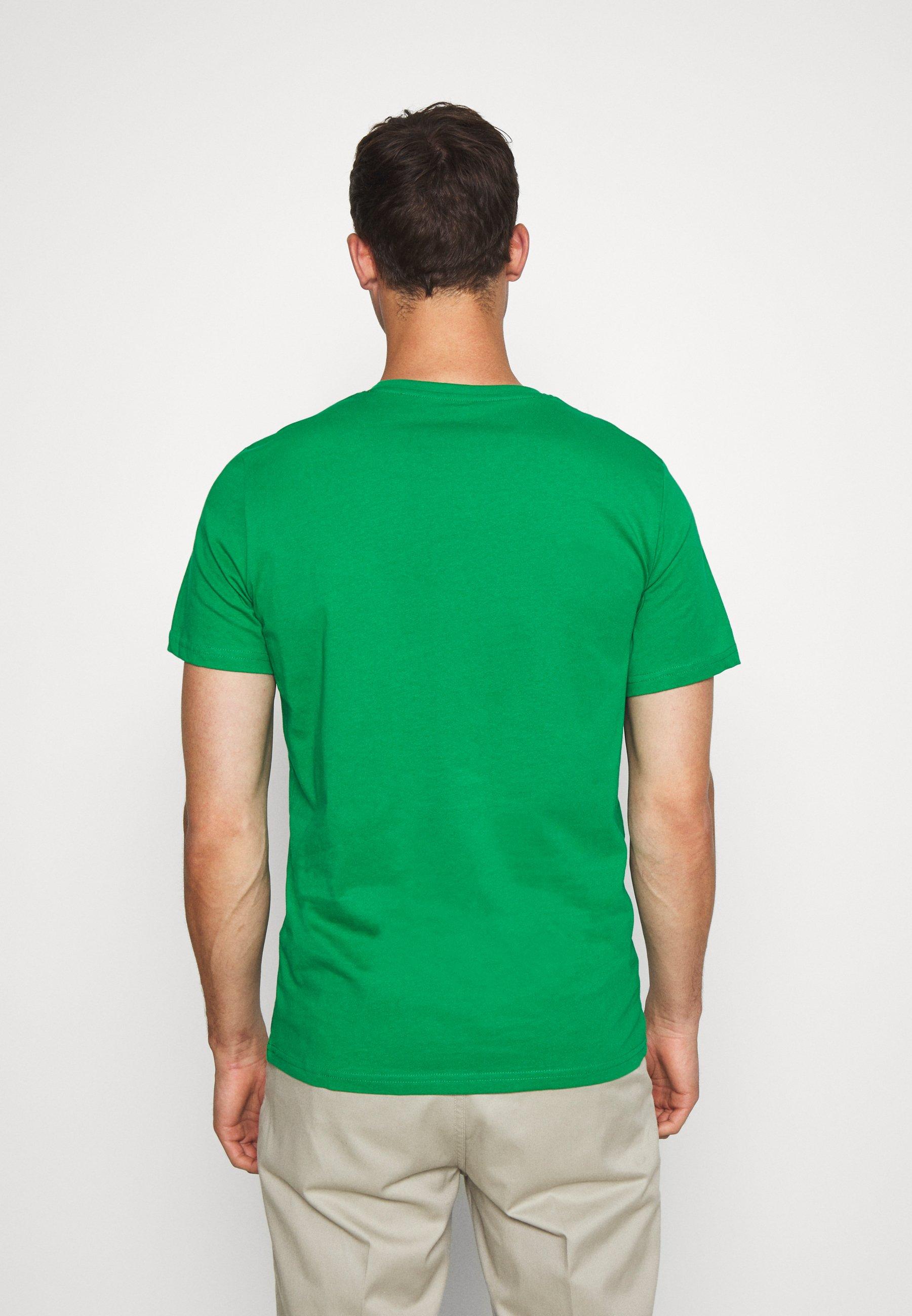 TOM TAILOR LOGO TEE - Print T-shirt - jolly green 3rt4G