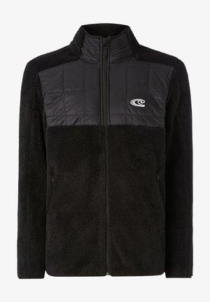 BAFFLE  - Fleece jacket - black out