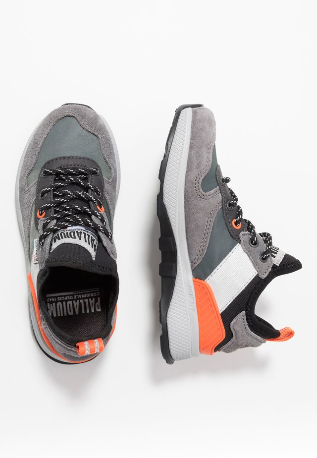 AXEON - Sneakersy niskie - forged iron