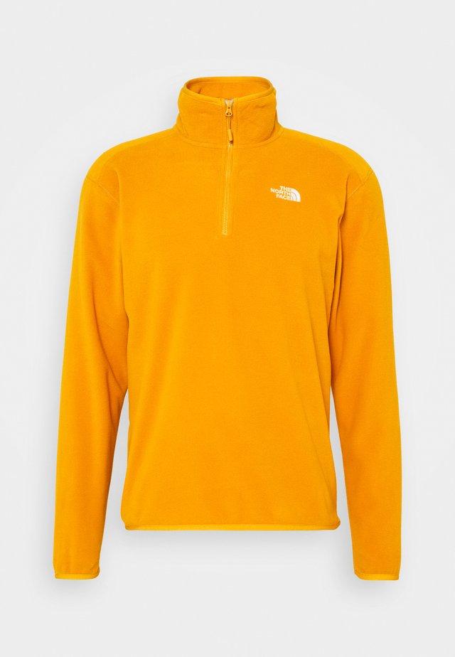 GLACIER 1/4 ZIP - Sweat polaire - citrine yellow