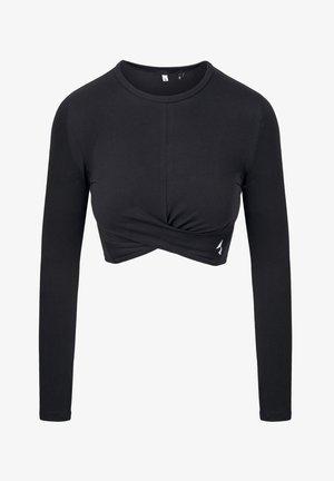 GAIA - T-shirt con stampa - black